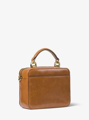 5b7977bca817 ... MICHAEL Michael Kors Mott Mini Crinkled Calf Leather Crossbody