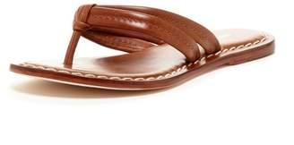 Bernardo Miami Dual Strap Leather Sandal