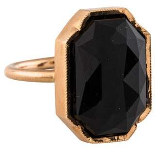 Irene Neuwirth 18K Onyx Octagon Ring
