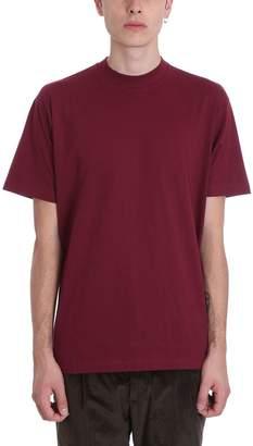 Low Brand Bordeaux Cotton T-shirt