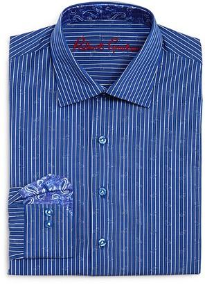 Robert Graham Boys' Stripe Button-Down Dress Shirt - Big Kid $79.50 thestylecure.com