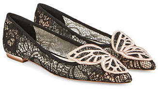Sophia Webster Bibi Butterfly Lace Flats