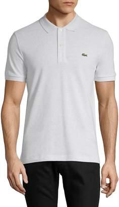 Lacoste Short Sleeve Ribbed Collar Polo Shirt