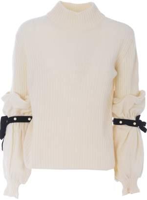 Philosophy di Lorenzo Serafini Ribbed Knit Sweater