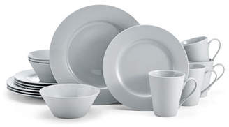 Mikasa 16-Piece Delray Grey Dinnerware Set