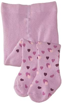 Playshoes Girl's High Quality Winter Warm Hearts Tights,(Manufacturer Size:3-4 Years)