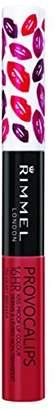 Rimmel Provocalips 16hr Kissproof Lipstick, Heart Breaker, 0.14 Fluid Ounce $6.49 thestylecure.com