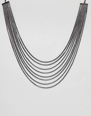Coast Uma Crystal Layerd Necklace