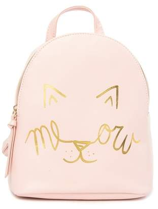 T-Shirt & Jeans Look At Meow Backpack