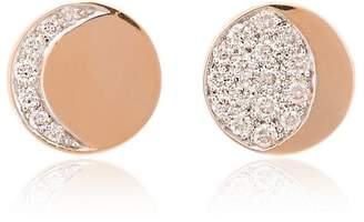 Pamela Love moon phase diamond studs