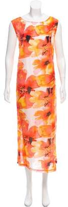 Reformation Floral Sleeveless Dress