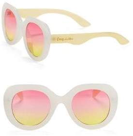 Sam Edelman 47MM Round Sunglasses