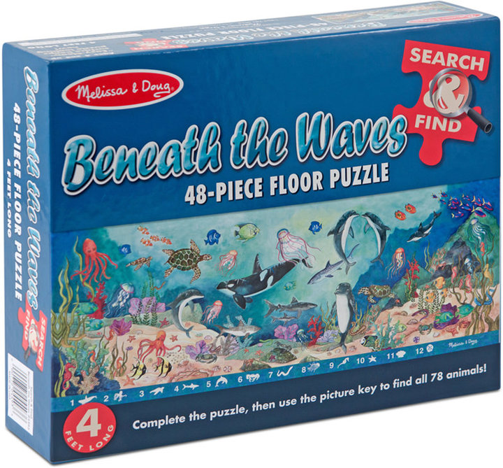 Melissa and Doug Kids Toy, Search & Find Beneath the Waves 48-Piece Floor Puzzle