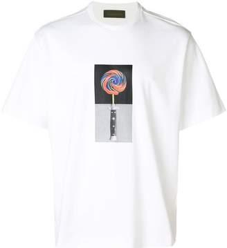 Diesel Black Gold Lollypop print T-shirt
