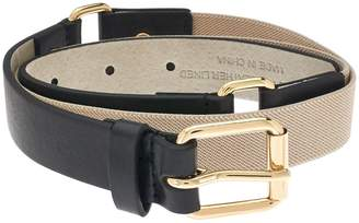 Isaac Mizrahi Live! Leather Belt w/ Harness Buckle