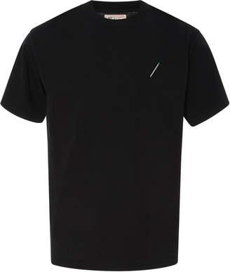 Nick Fouquet Embroidered Matchstick Cotton-Jersey T-Shirt
