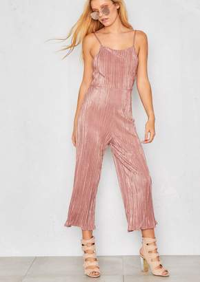 4e5f82c7798 Missy Empire Missyempire Nellie Rose Pleated Open Back Jumpsuit