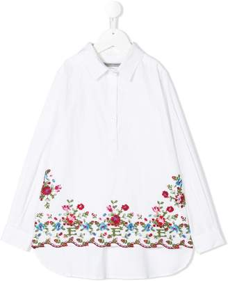 Ermanno Scervino embroidered detail shirt