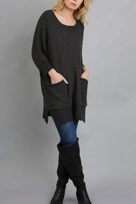 Umgee USA Cozy Tunic Sweater