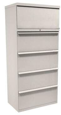 Marvel Office Furniture Zapf 5-Drawer Lateral Filing Cabinet Marvel Office Furniture