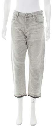 Citizens of Humanity High-Rise Straight-Leg Jeans w/ Tags