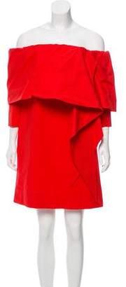 Isa Arfen Off-The-Shoulder Mini Dress