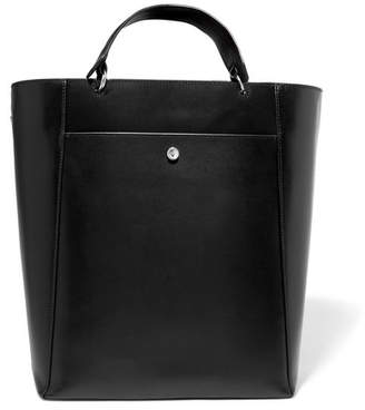 Elizabeth and James - Eloise Large Leather Tote - Black $595 thestylecure.com