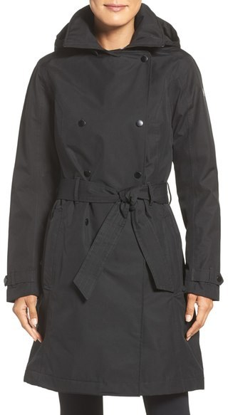 Helly Hansen 'Welsey' Waterproof Trench Coat