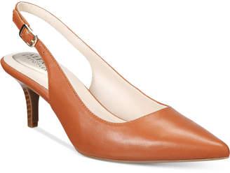 Alfani Women Step 'N Flex Babbsy Pointed-Toe Slingback Pumps, Women Shoes