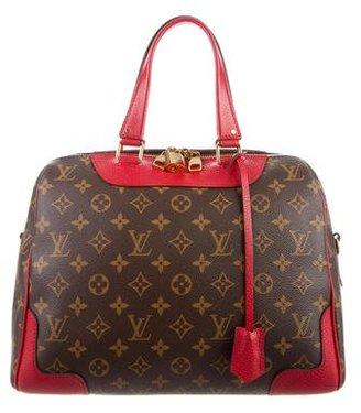 Louis Vuitton 2015 Monogram Retiro NM Coquelicot $1,825 thestylecure.com