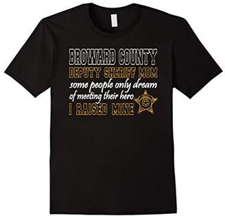 Broward County Florida Deputy Sheriff Shirt Mom Gifts