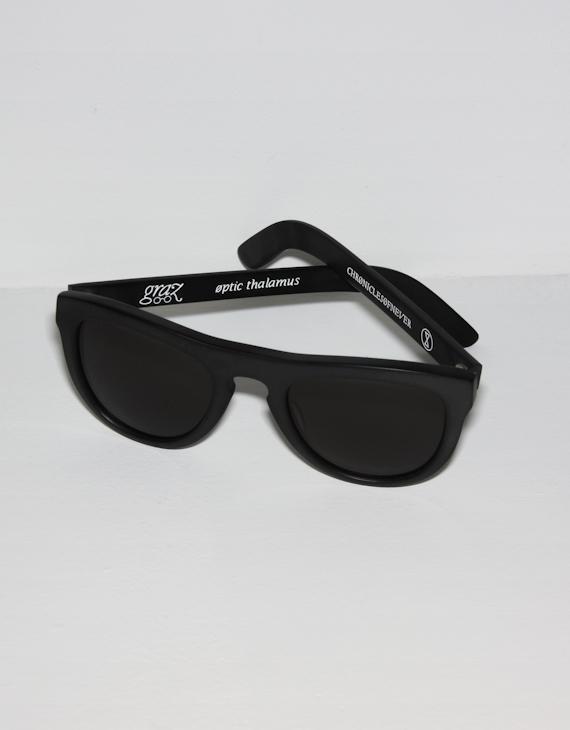 Chronicles Of Never Matte Black Optic Thalamus Sunglasses