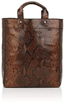 Dries Van Noten Women's Snake-Embossed Leather Tote Bag