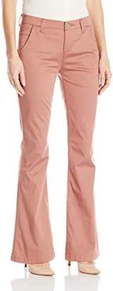 Lee Women's Petite Midrise Series Curvy Fit Publisher Slim Bootcut Pant
