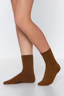 Nasty Gal Don't Admit De-feet Ankle Socks