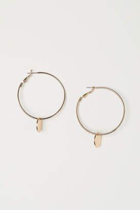 H&M Hoop Earrings - Gold