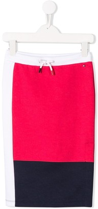 Tommy Hilfiger Junior signature tricolour skirt