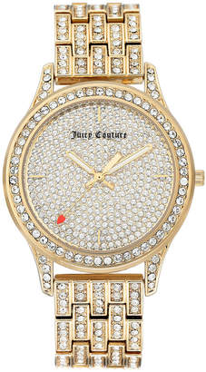 Juicy Couture Woman Juicy Couture, 1044PVGB Crystal Bracelet Watch