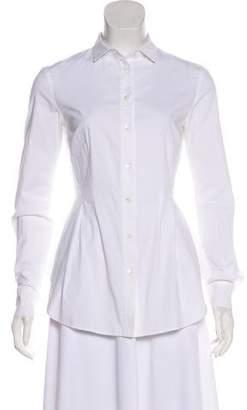 Antonio Berardi Long Sleeve Button-Up Top