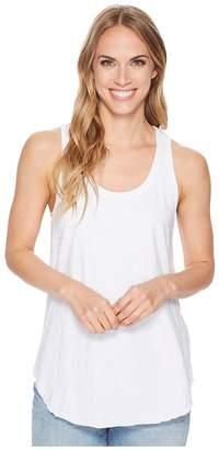 Dylan by True Grit Luxe Cotton Slub Shirttail Tank Top Women's Sleeveless