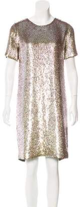 Gucci Silk Sequined Dress