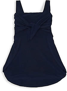 Un Deux Trois Girl's Tie-Front T-Shirt Dress