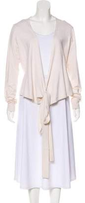 Diane von Furstenberg Silk-Blend Wrap-Tie Sweater