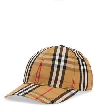 61850e18815 Burberry Vintage Check Baseball Cap