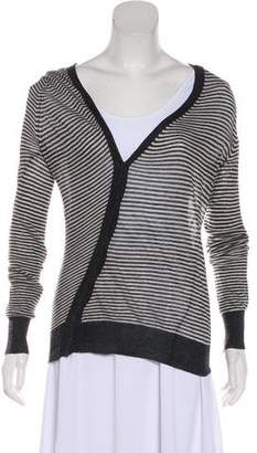 Ann Demeulemeester Striped Lightweight Cardigan