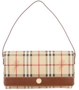 Burberry Burberry Haymarket Check Shoulder Bag