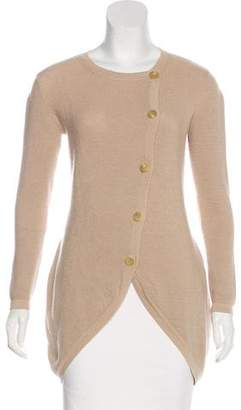Alexander McQueen Cashmere High-Low Cardigan