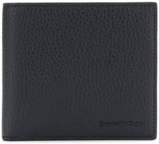 Ermenegildo Zegna grained billfold wallet