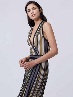 Cadenza Knit Wrap Dress $428 thestylecure.com