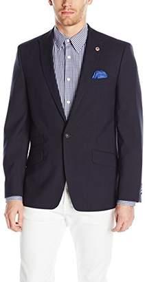 Ben Sherman Men's One Button Weave Blazer
